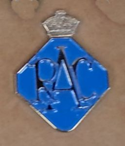 RAC logo enamel / metal pin badge (ff)